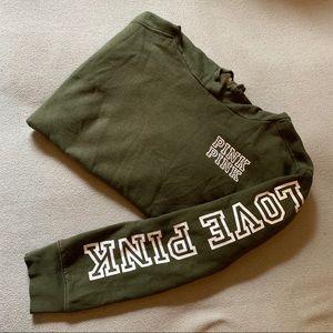 Green PINK hoodie